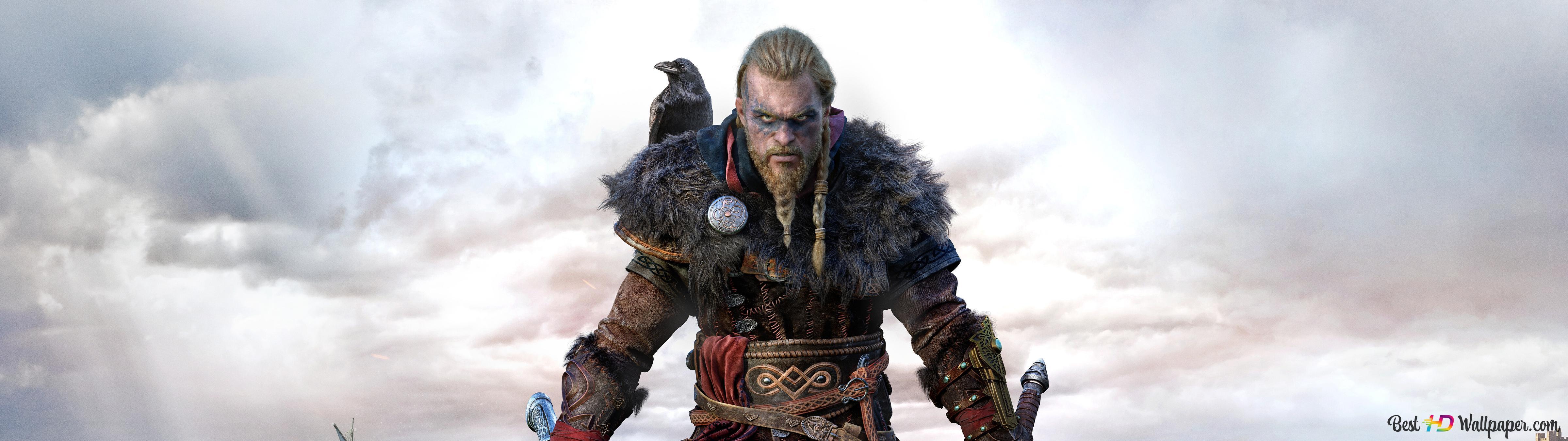 Assassin S Creed Valhalla Eivor Viking Clan Hd Wallpaper Download