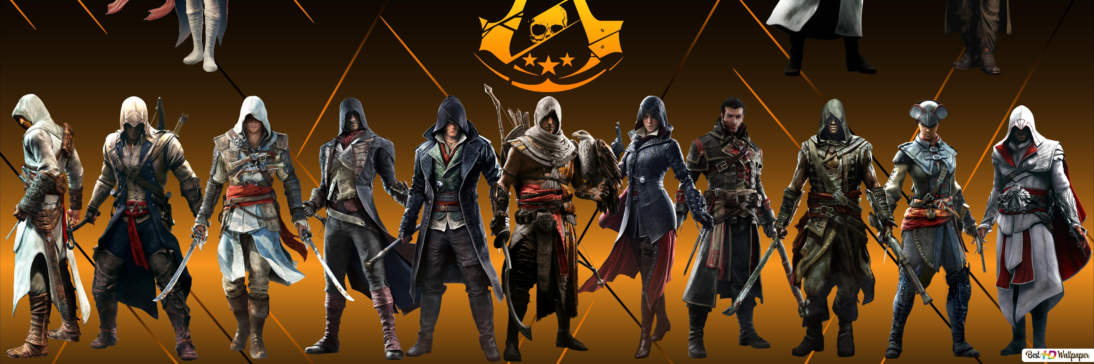 Assassin S Forever Creed Hd Wallpaper Download