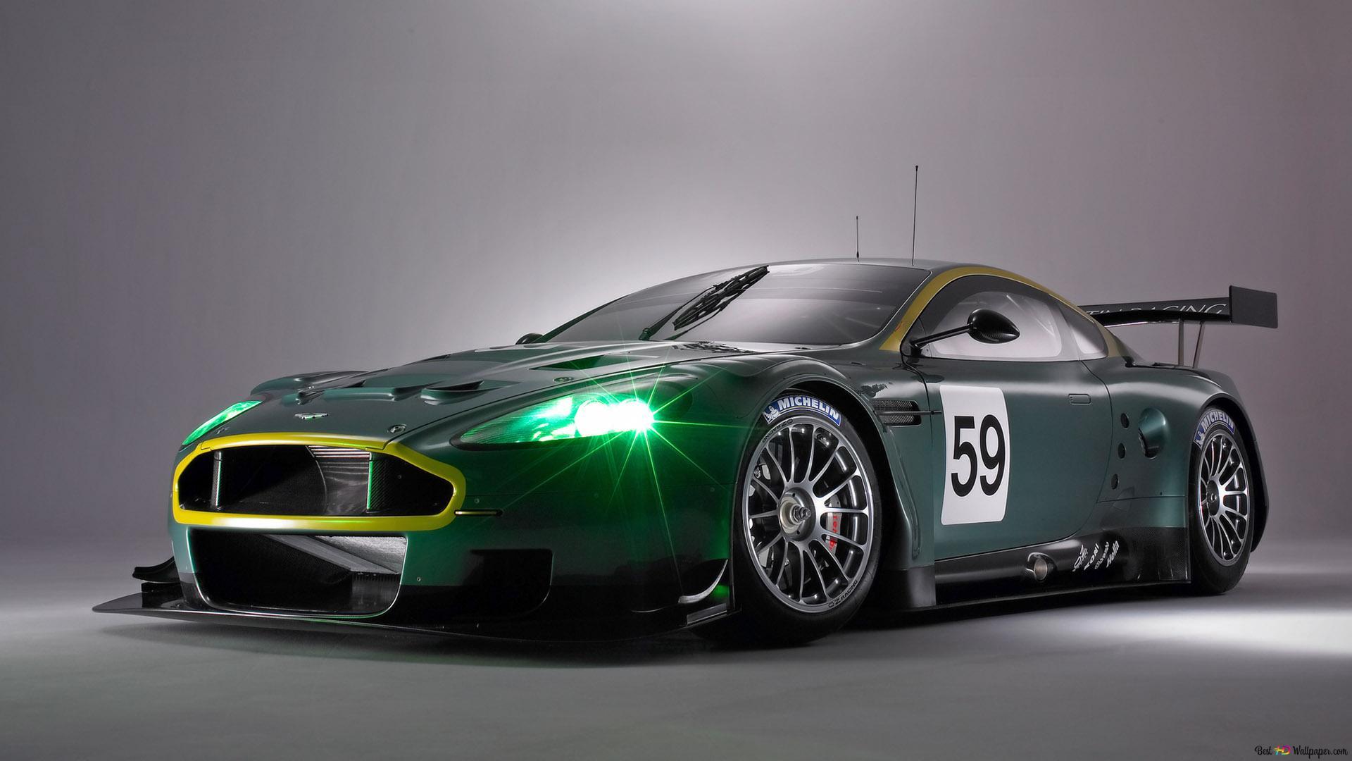 Aston Martin Dbr9 Sport Car Hd Wallpaper Download