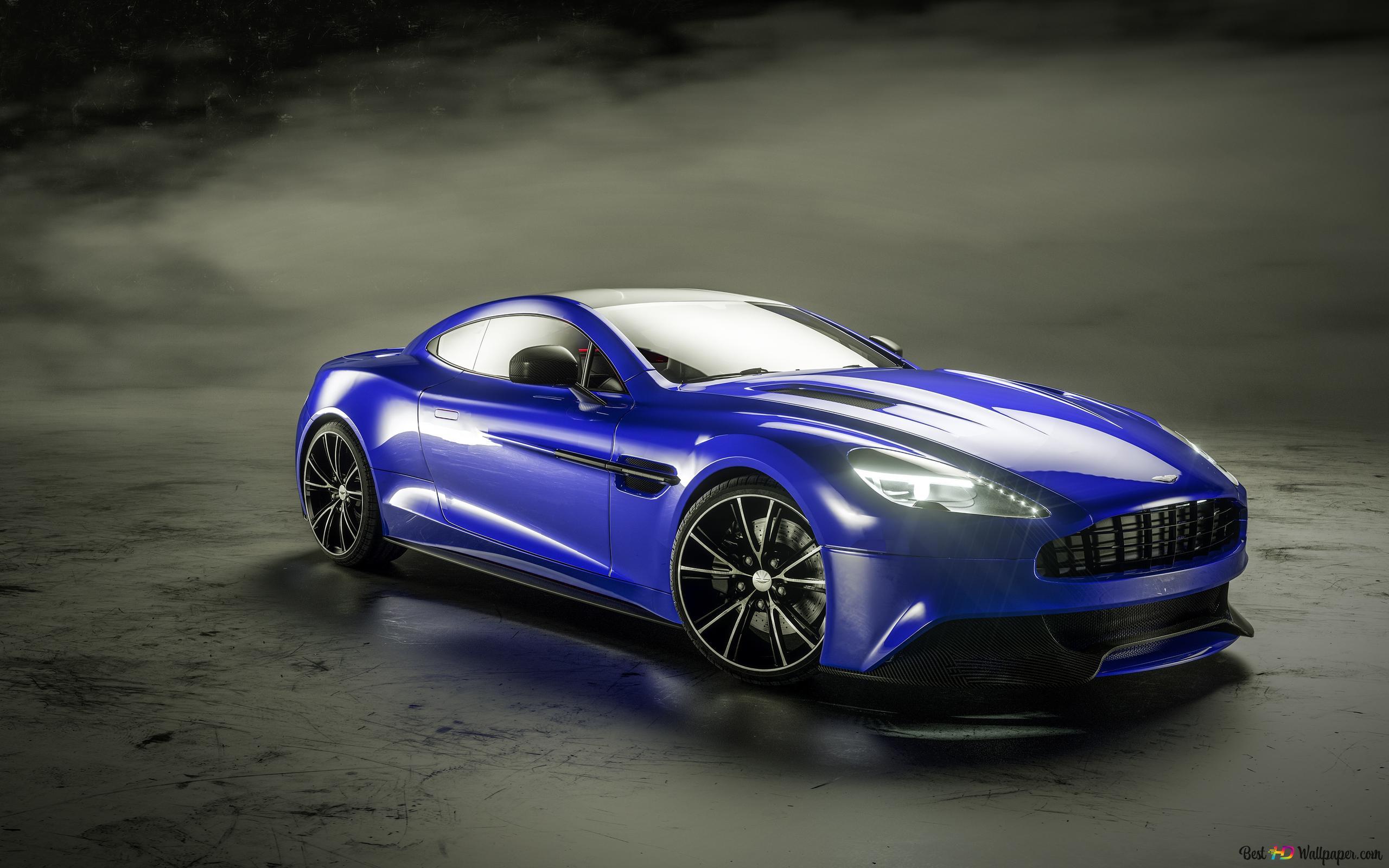 Aston Martin Vanquish Hd Wallpaper Download