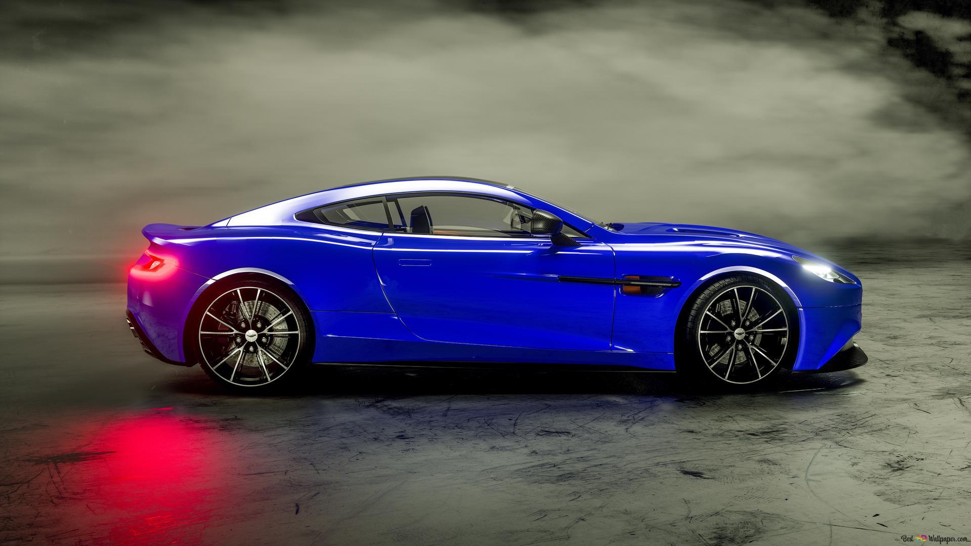 Descargar Fondo De Pantalla Aston Martin Vence Azul Hd