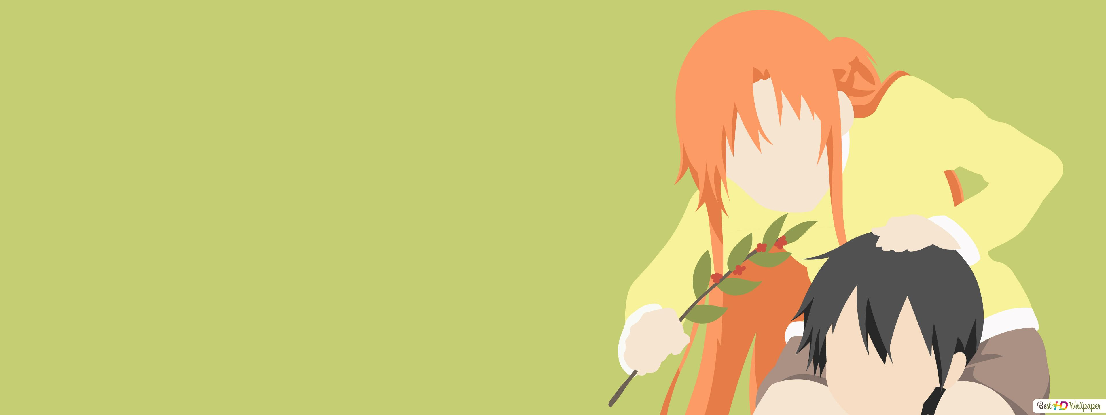 Asuna Yuuki And Kazuto Kirigaya HD Wallpaper Download