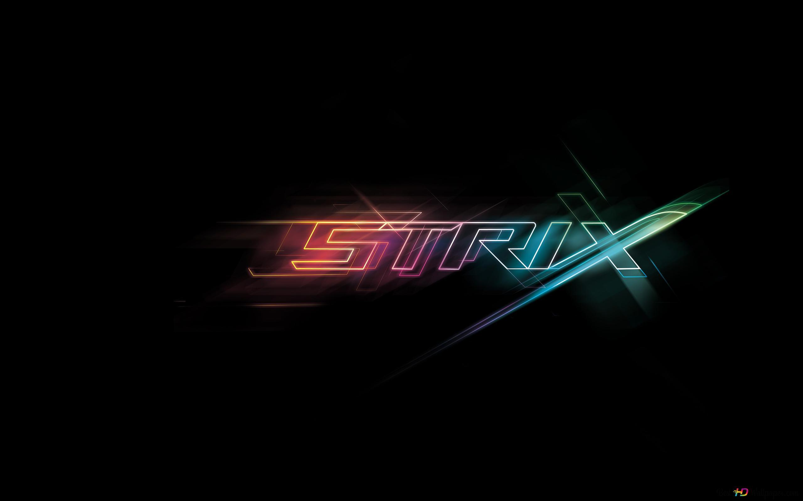 Asus Rog Republic Of Gamers Strix Hd Wallpaper Download