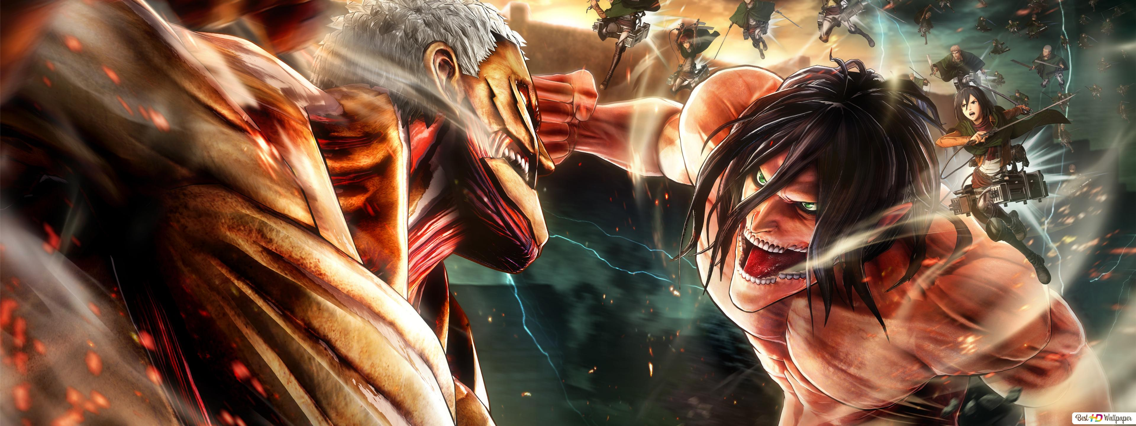 Attack On Titan 2 Video Game Hd Wallpaper Download