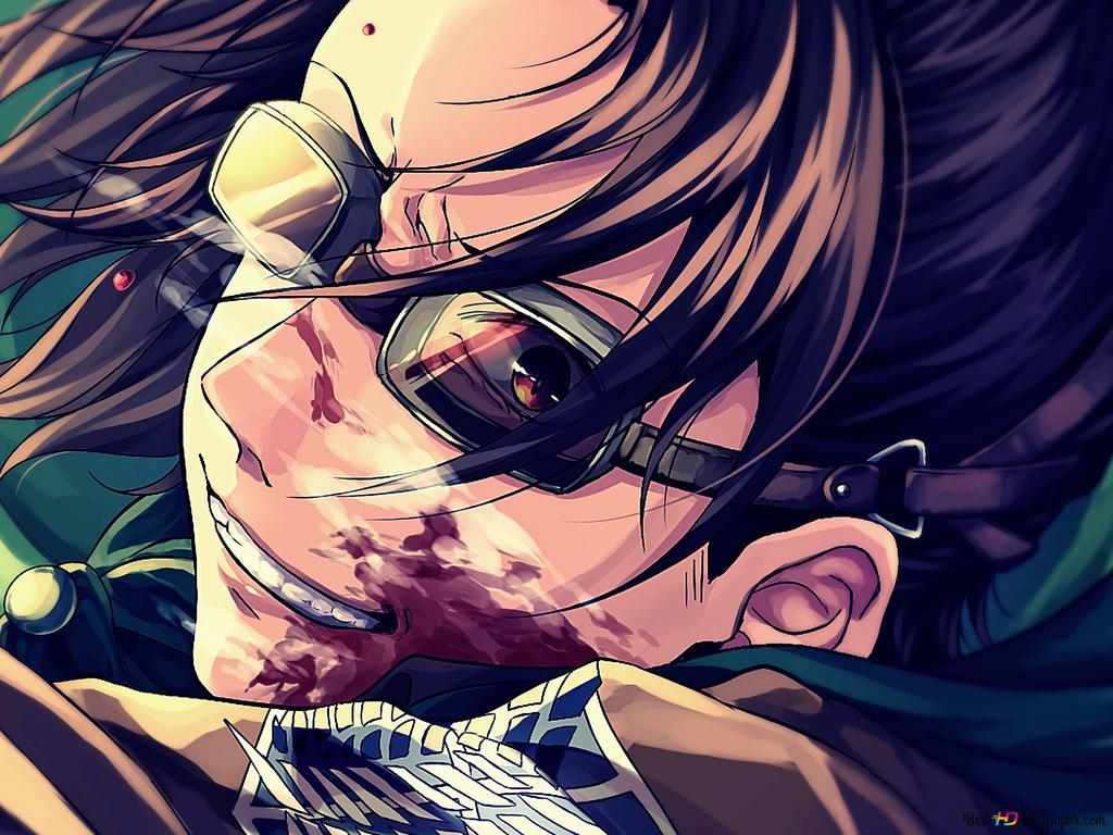 Attack On Titan Hange Zoe Hd Wallpaper Download
