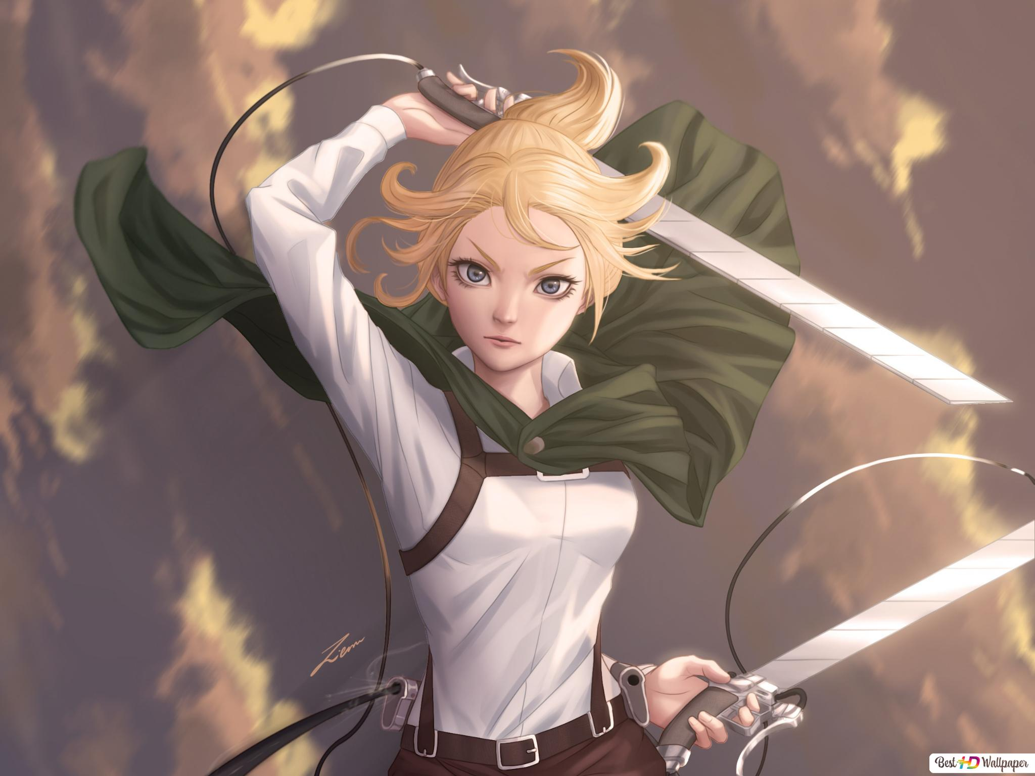 Attack On Titan Historia Reiss Hd Wallpaper Download