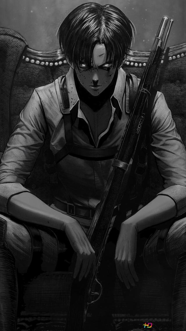 Attack On Titan Levi Ackerman Squad Captain Hd Wallpaper Download