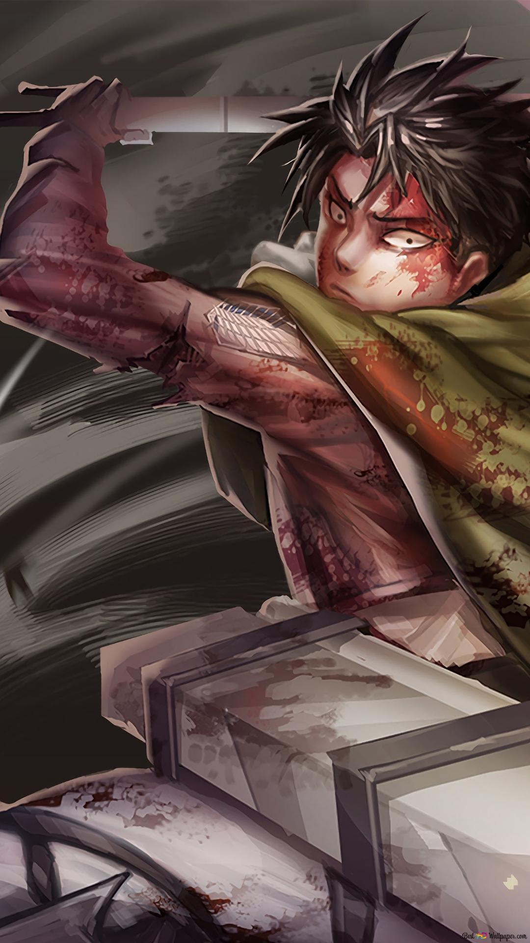 Attack On Titan Levi Ackerman Hd Wallpaper Download