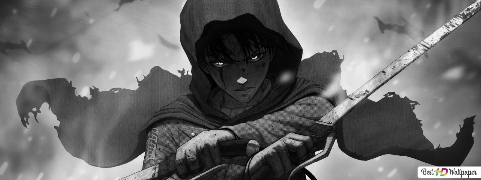 Attack On Titan Levi Godmode Hd Wallpaper Download