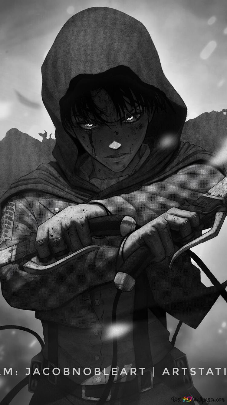 Attack On Titan Levi Godmode Hd Wallpaper Download