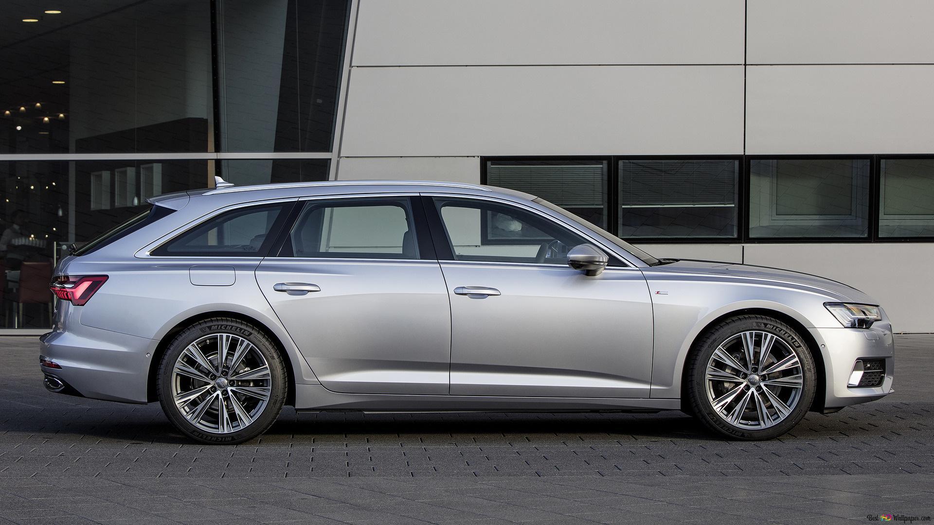 Audi A6 Avant 2018 03 Unduhan Wallpaper Hd