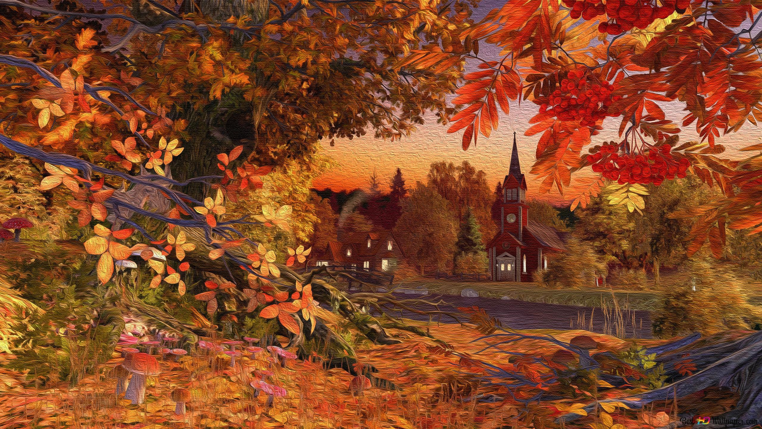 Autumn Hd Wallpaper Download