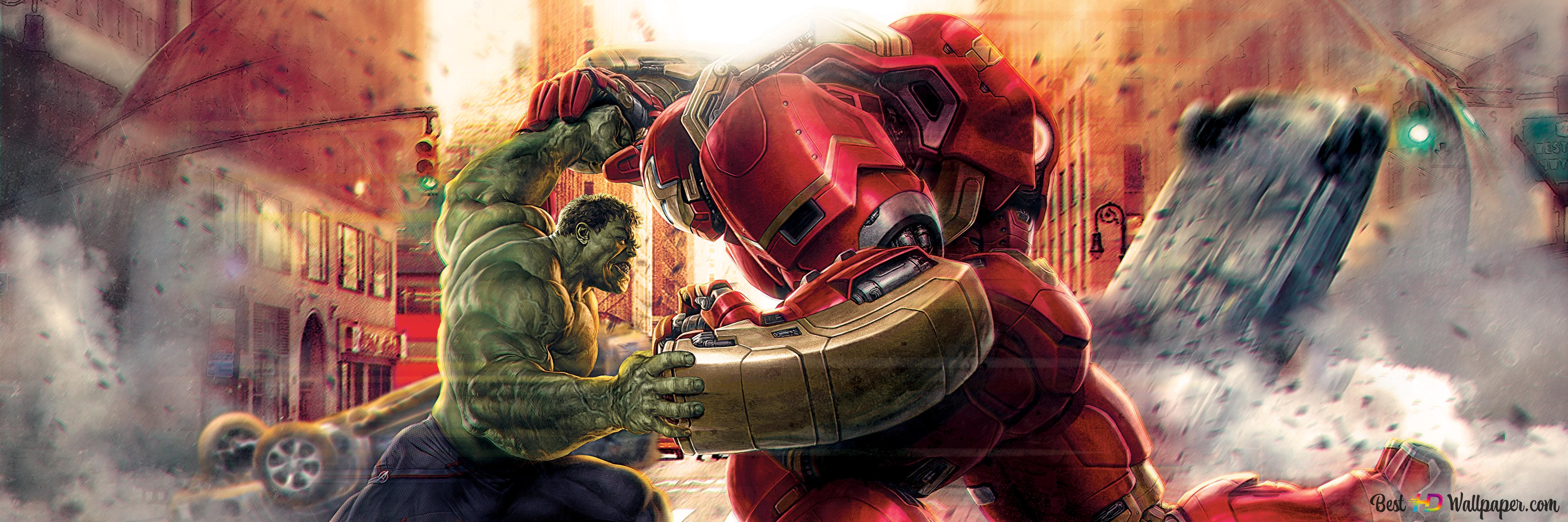 Avengers age of ultron hulk et hulkbuster hd fond d - Avengers 2 telecharger ...