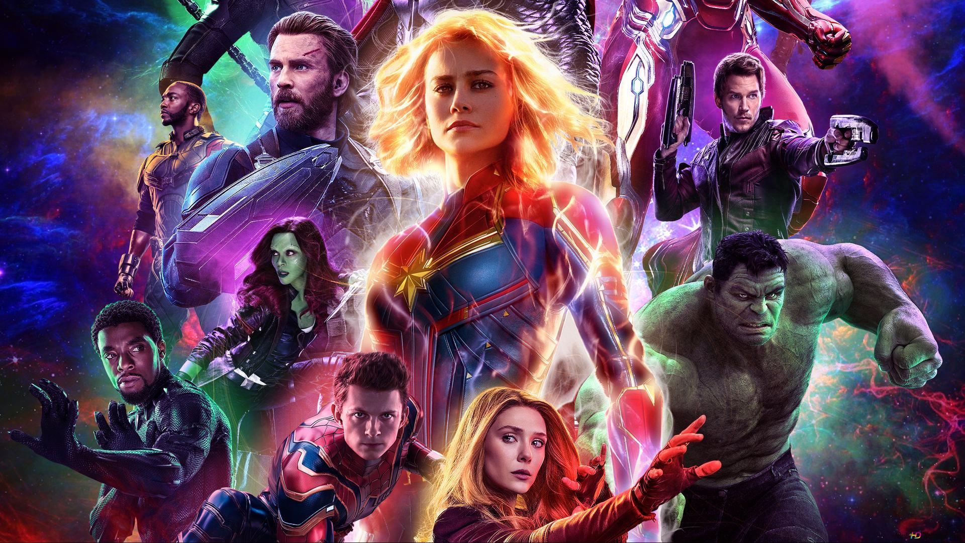 Avengers endgame aliens et heroes hd fond d 39 cran - Avengers 2 telecharger ...