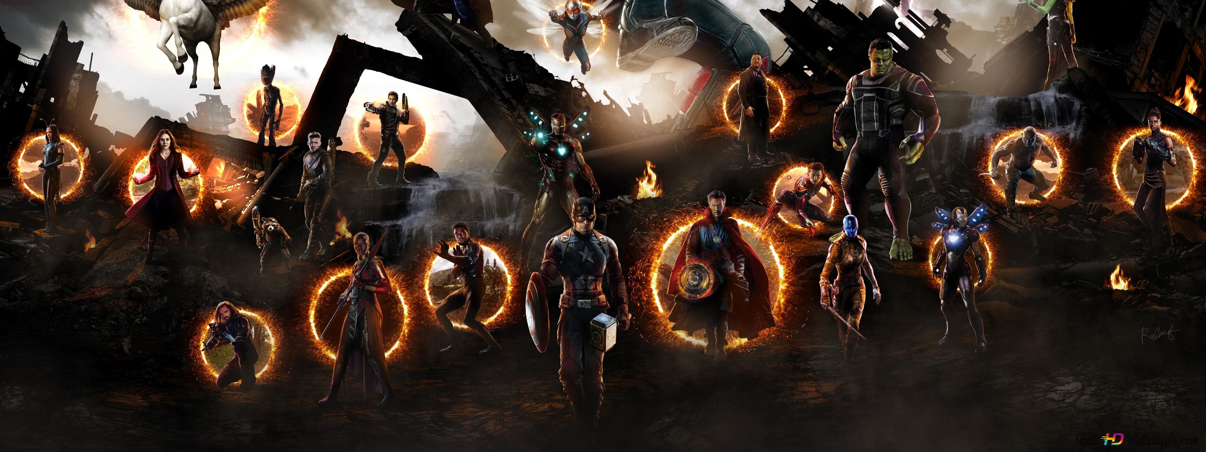 Avengers Endgame Assemble Hd Wallpaper Download