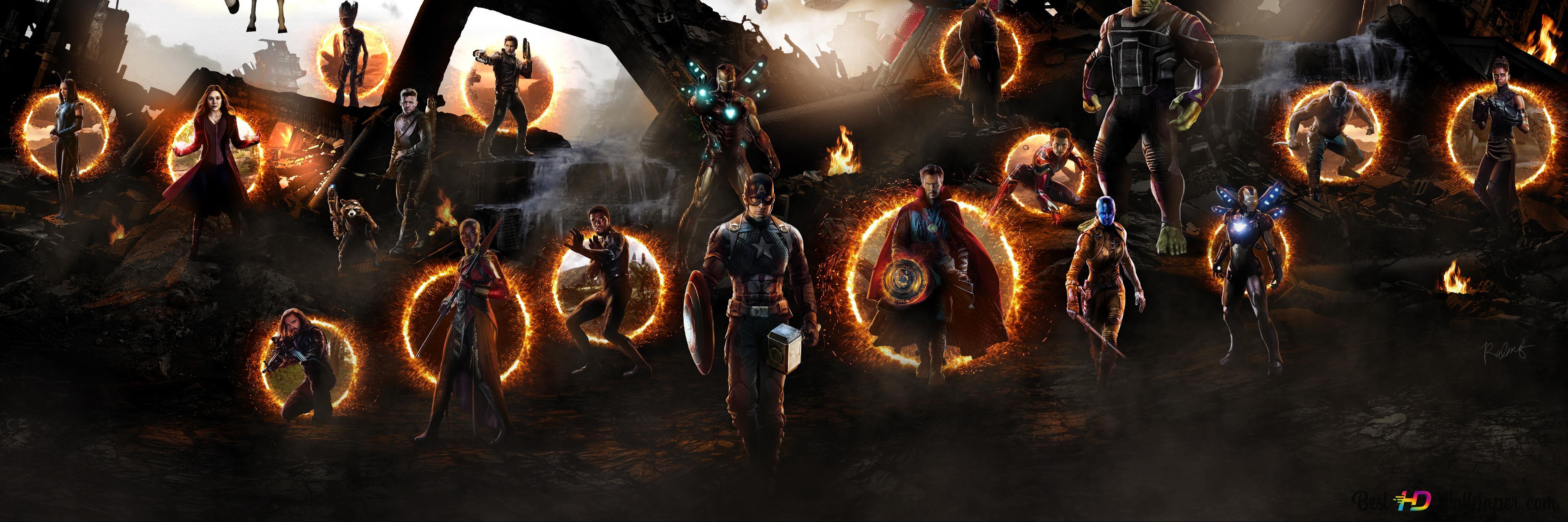 Download Avengers Endgame Final Battle Wallpaper Cikimm Com