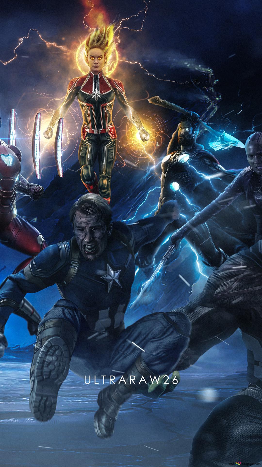 4k Tapete Avengers Endgame 4k Hd Wallpaper