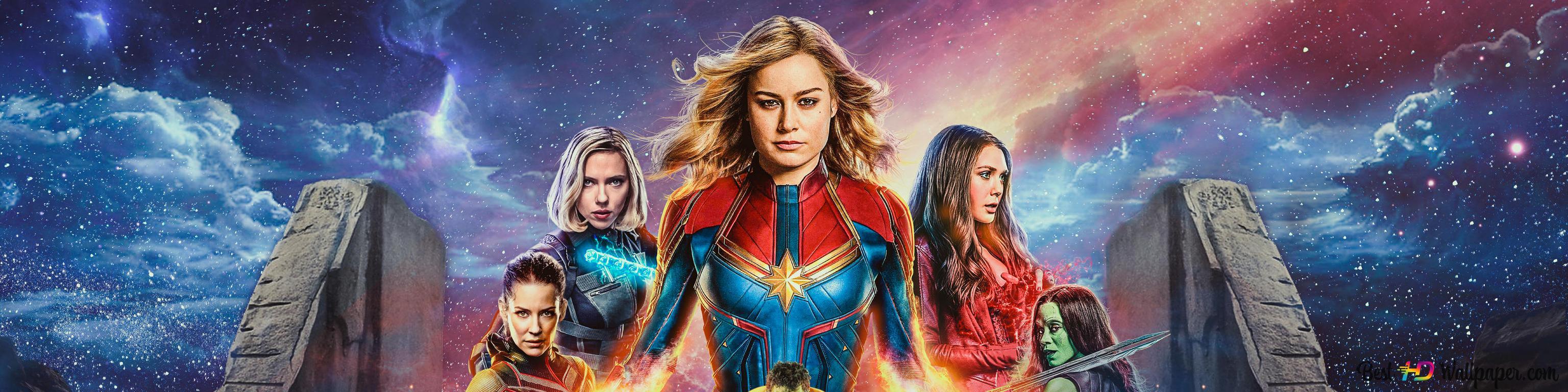 Avengers Endgame Dual Screen Wallpaper Muharram X