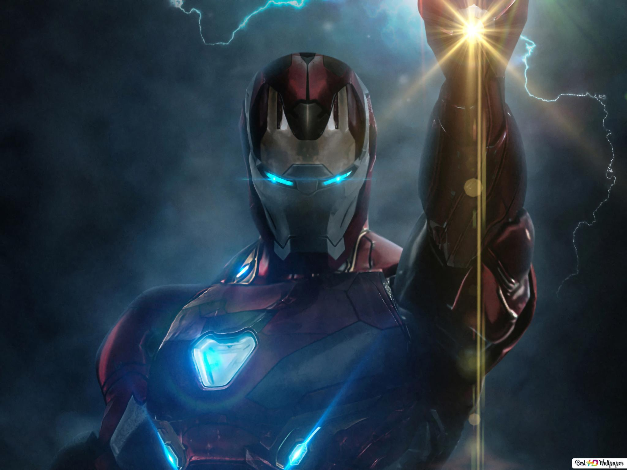 Avengers Endgame Film Iron Man Powers Hd Fond D écran