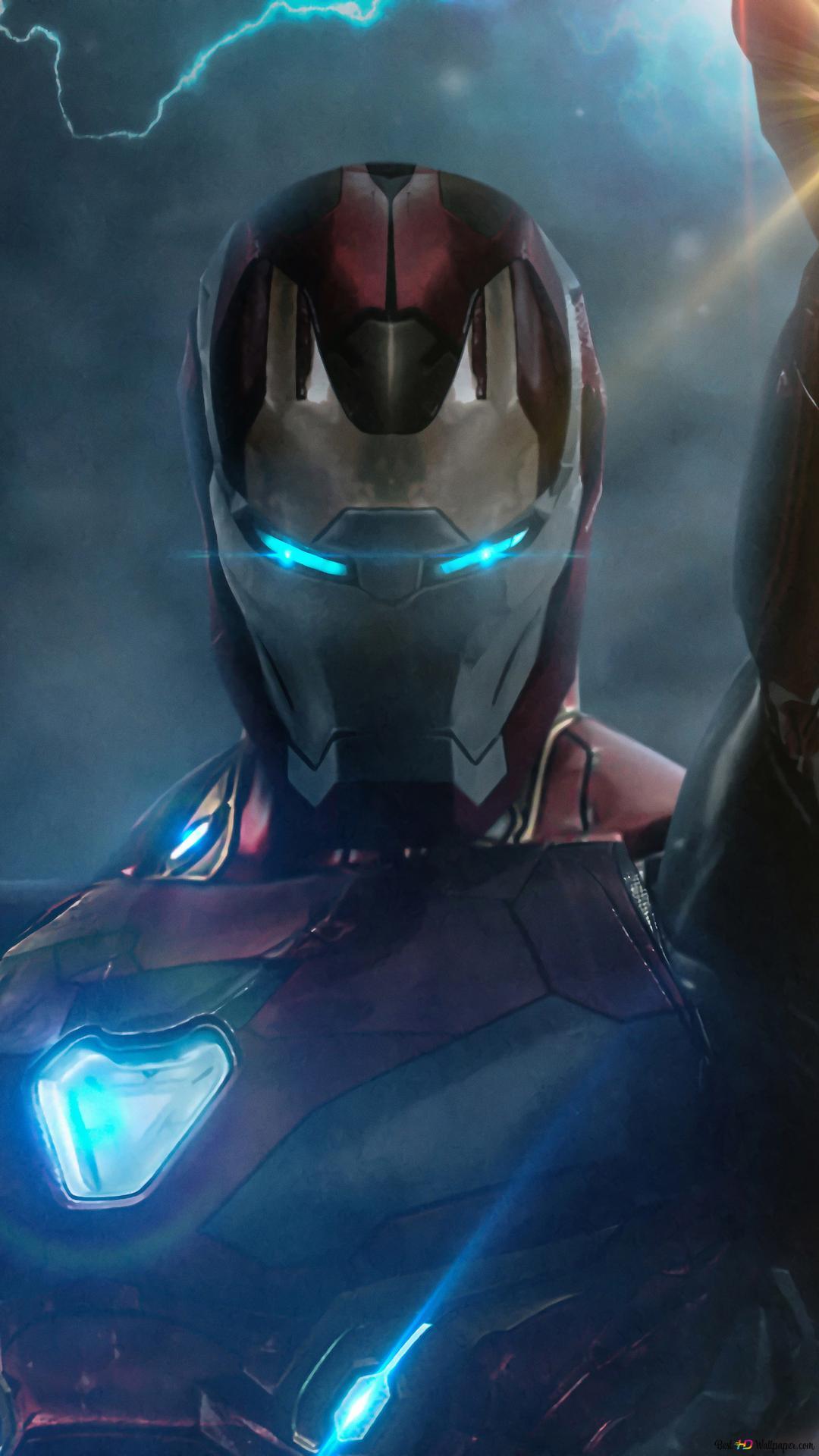 Avengers Endgame Film Iron Man Powers Hd