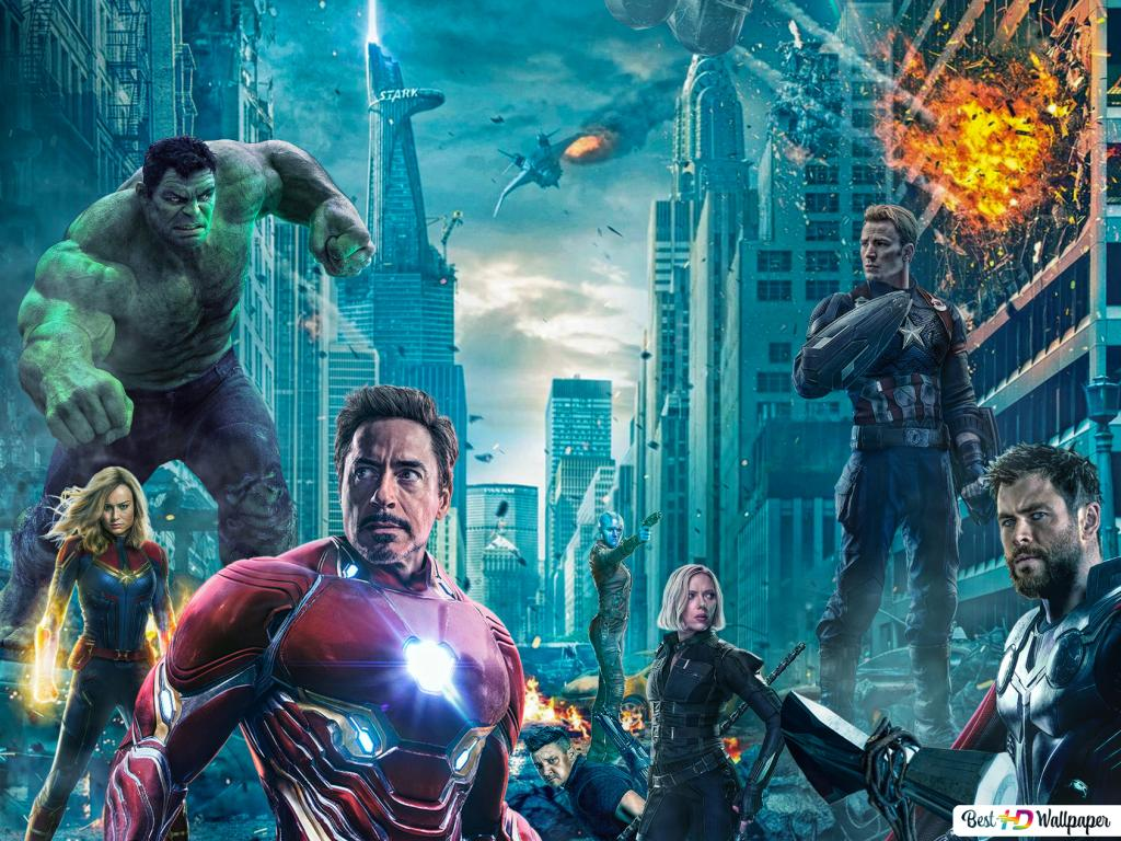 Avengers Endgame Heroes In War Hd Wallpaper Download