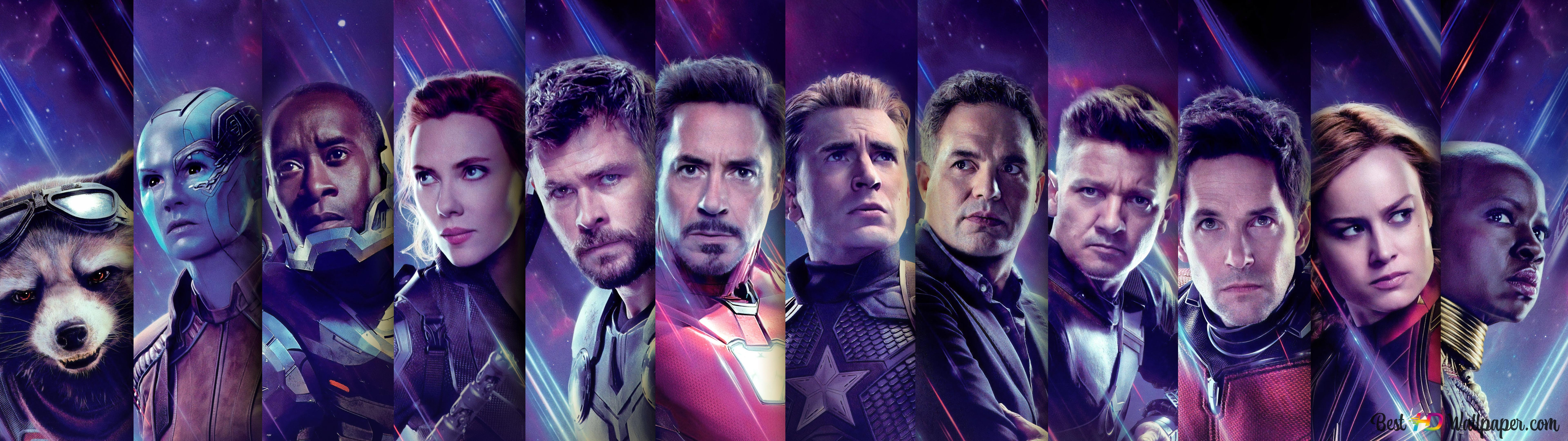 Avengers Endgame Heroes Hd Wallpaper Download