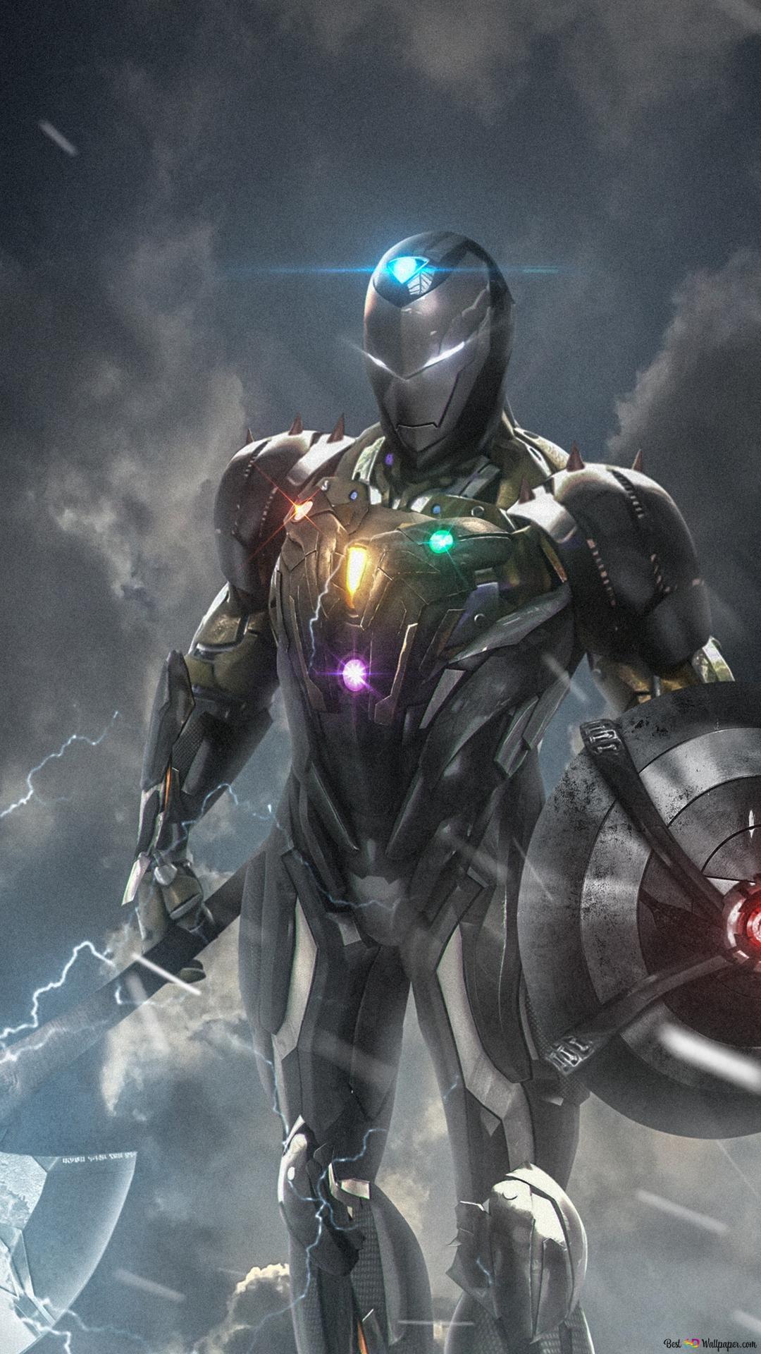 Avengers Endgame Iron Man Fan Art Hd Hintergrundbilder
