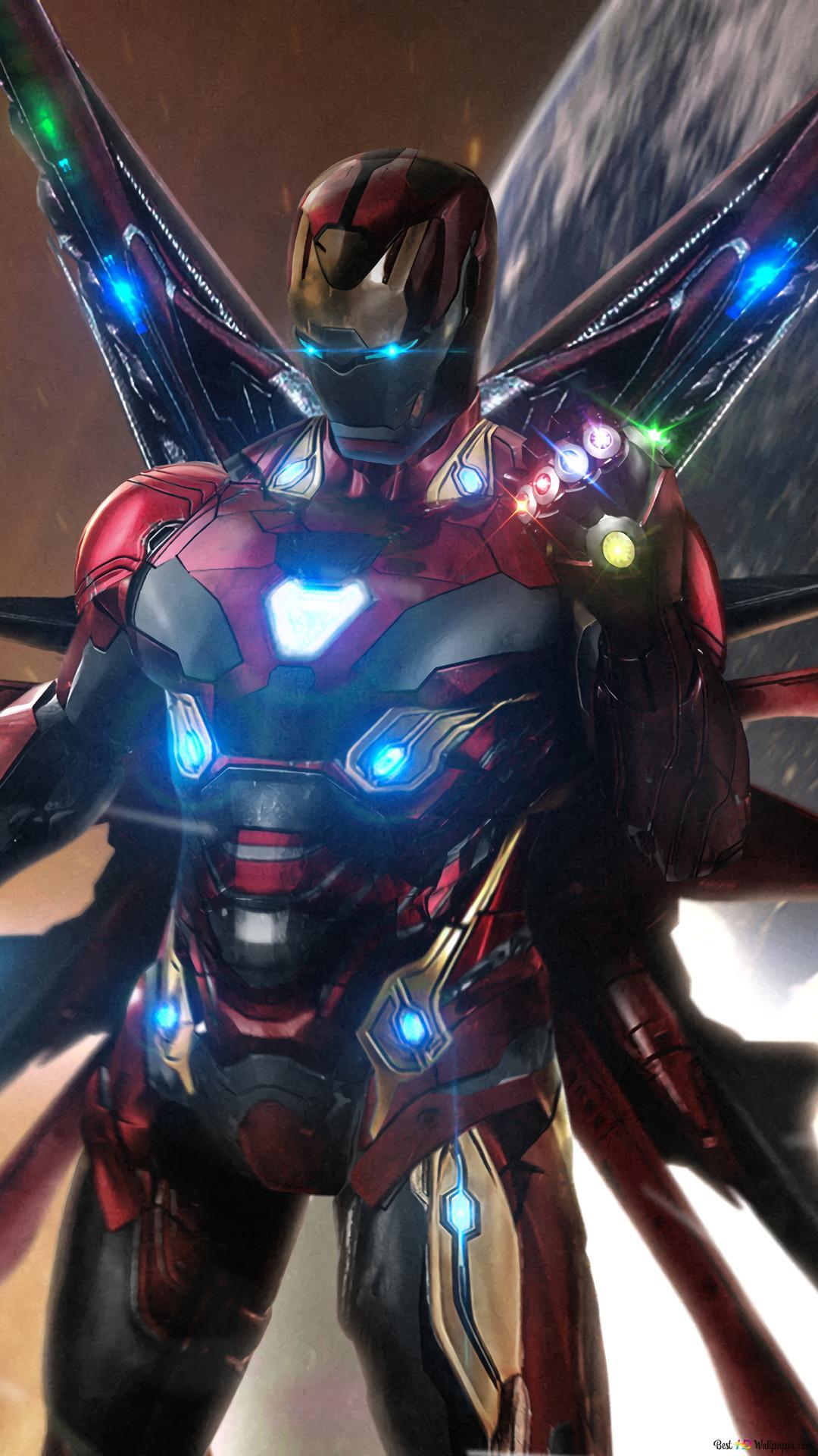 Avengers Endgame Iron Man Infinity Steine Hd
