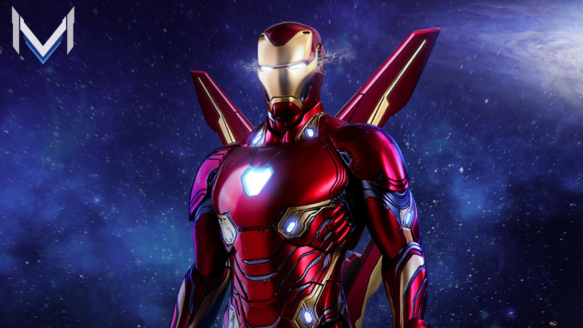 Avengers Endgame Ironman Superheld Hd Hintergrundbilder