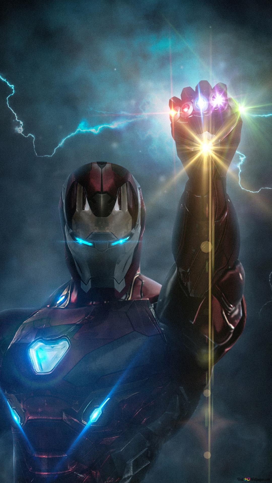 Avengers endgame ironman with infinity glove hd - Fondos de pantalla de iron man en 3d ...