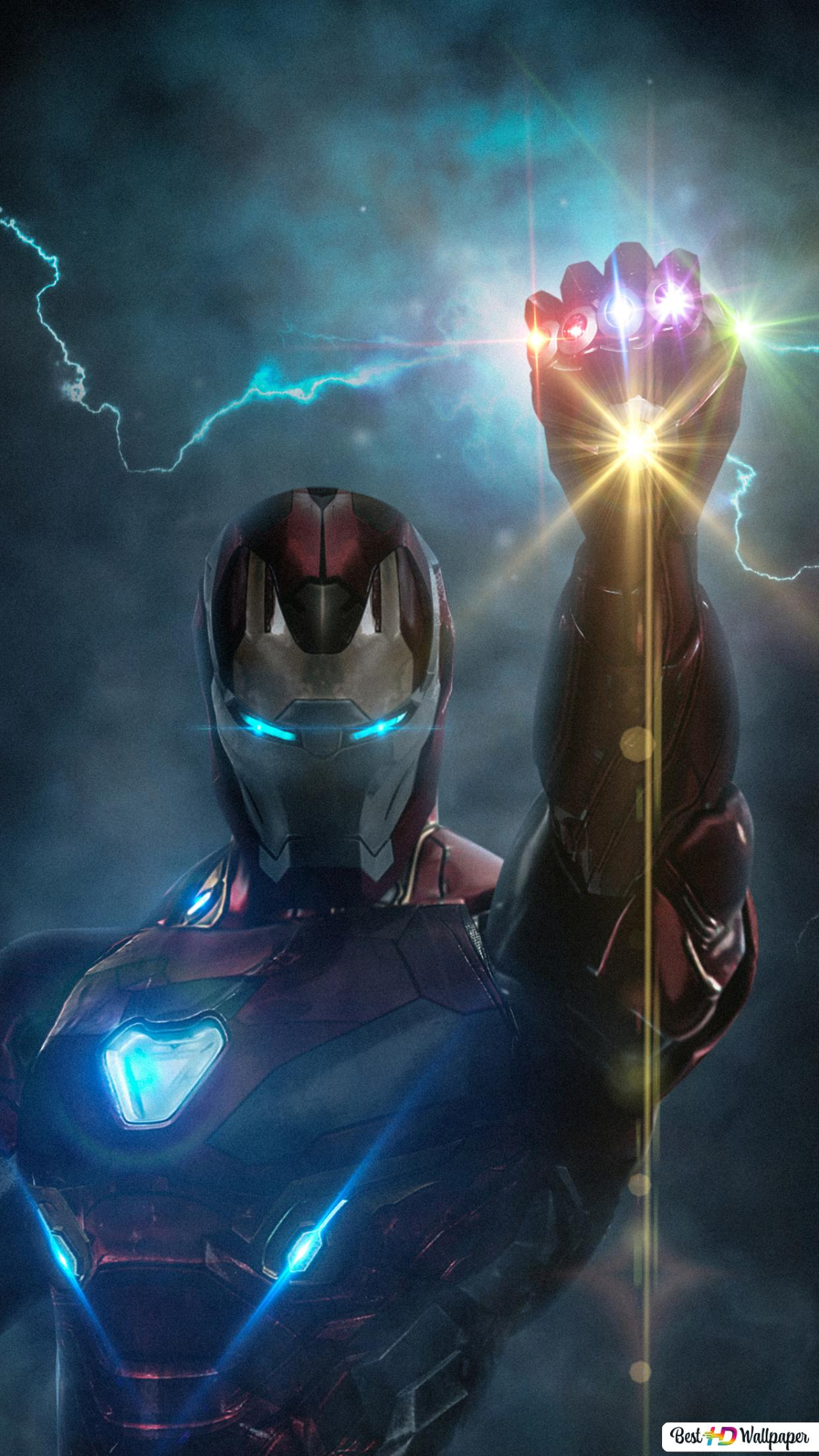 Avengers Endgame Ironman With Infinity Glove Hd Wallpaper Download