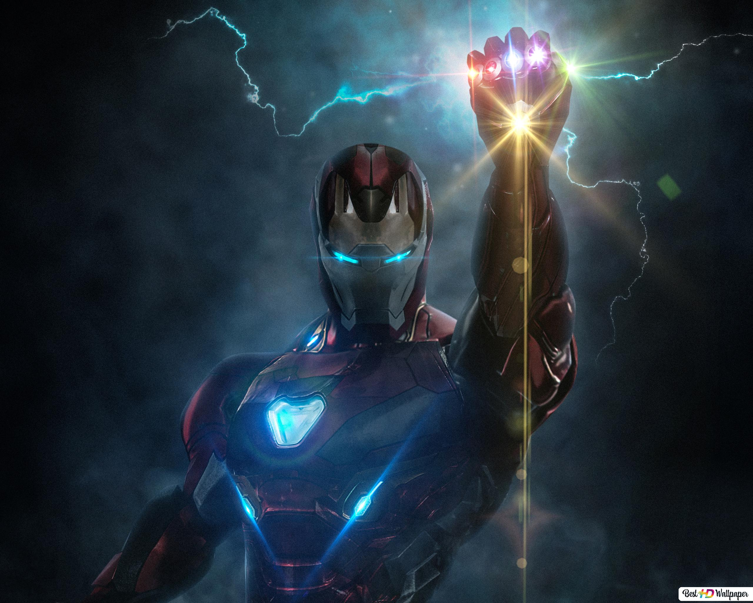 Wallpaper Iron Man Infinity Gauntlet Hd Creative: Ironman With Infinity Glove HD