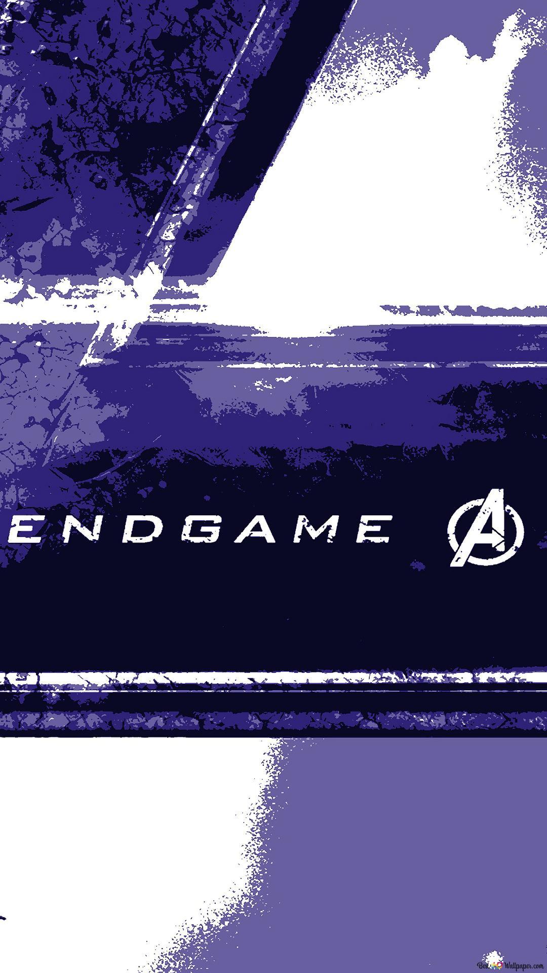 Avengers Endgame Logo Hd Wallpaper Download