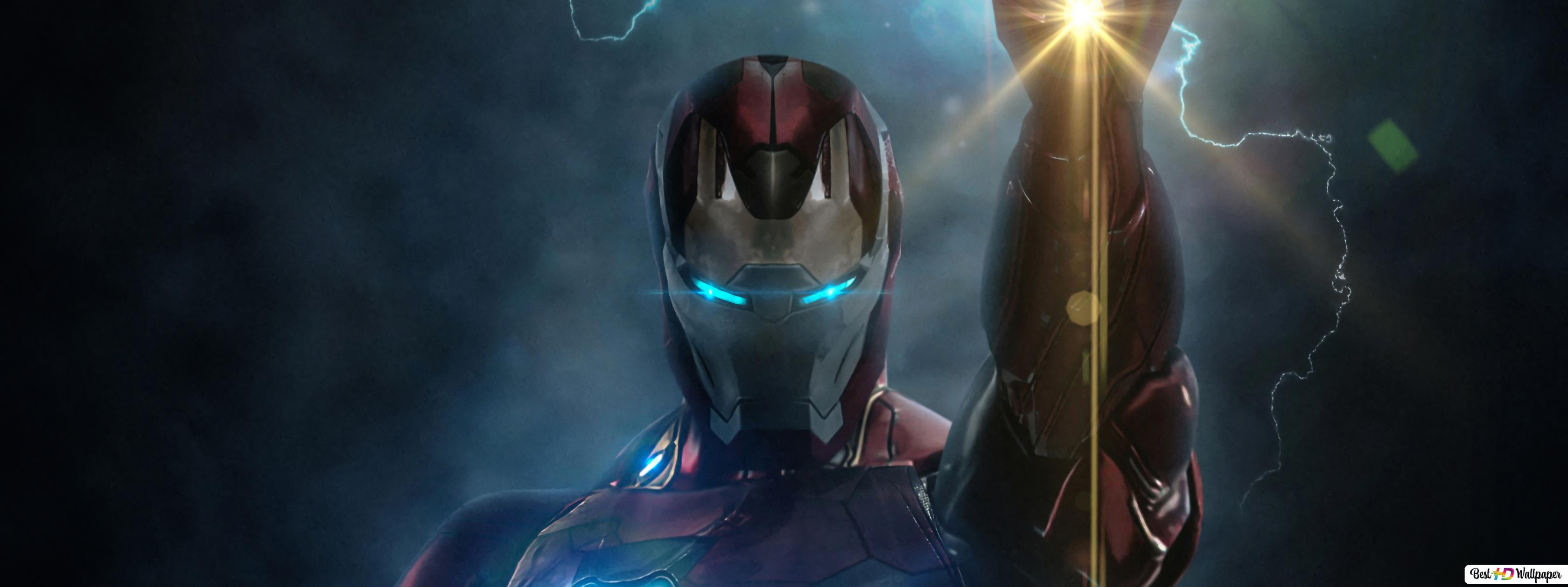 Avengers Endgame Movie Iron Man Powers Hd Wallpaper Download