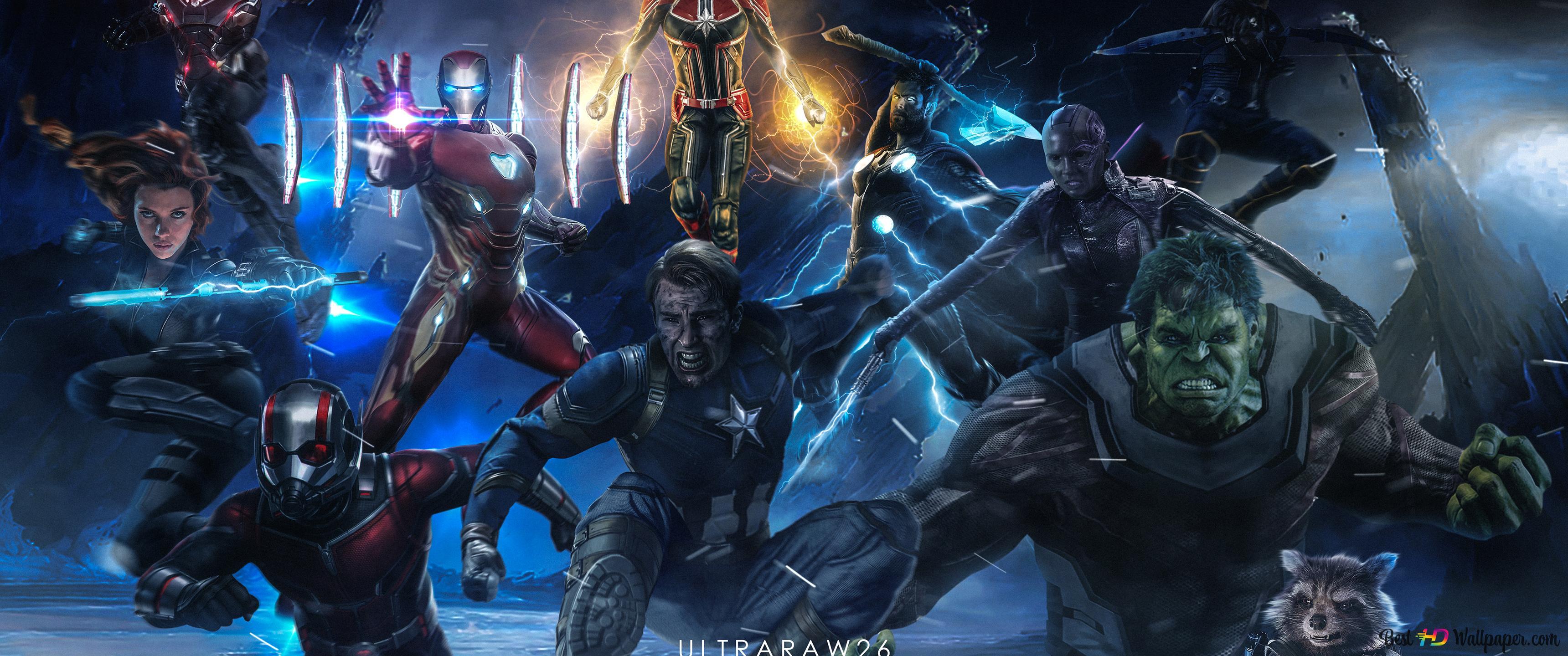 Avengers endgame par ultraraw26 hd fond d 39 cran t l charger - Telecharger avengers ...