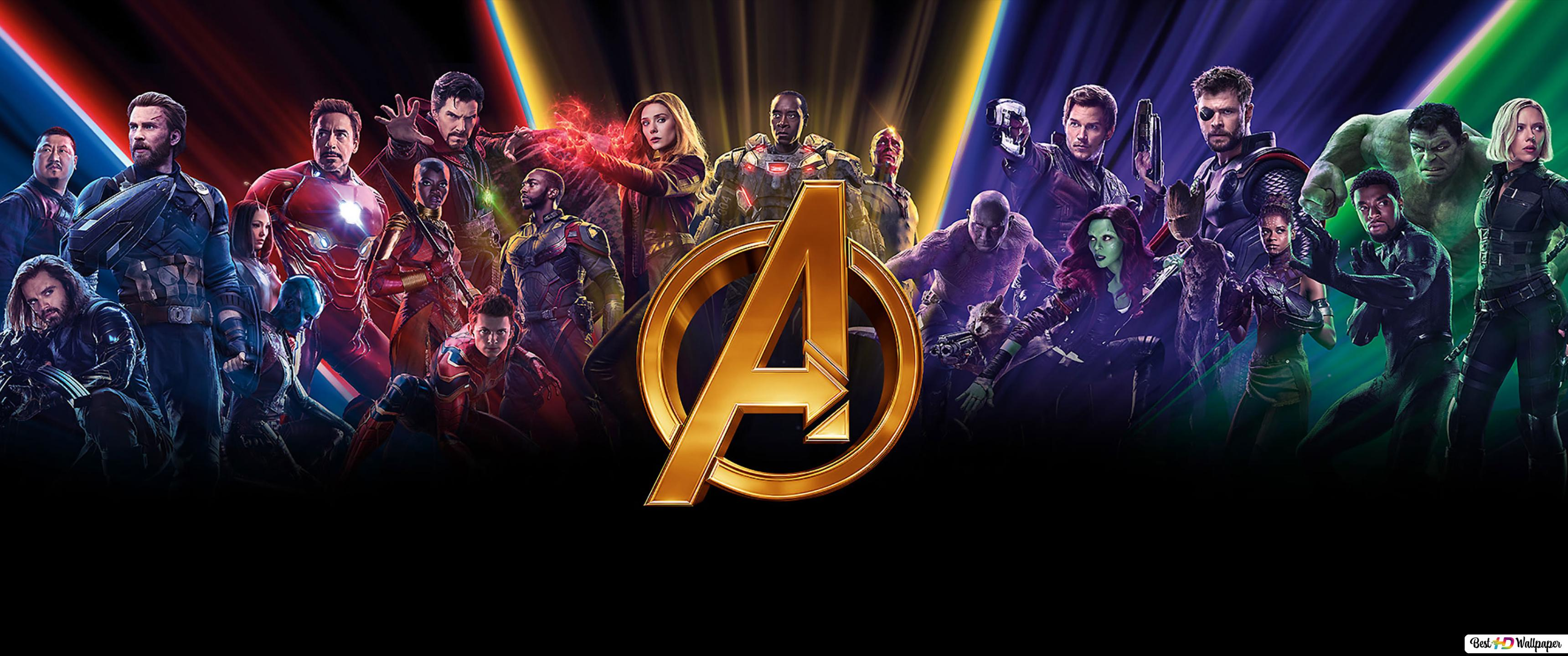 Avengers: Infinity War - All Heroes HD wallpaper download