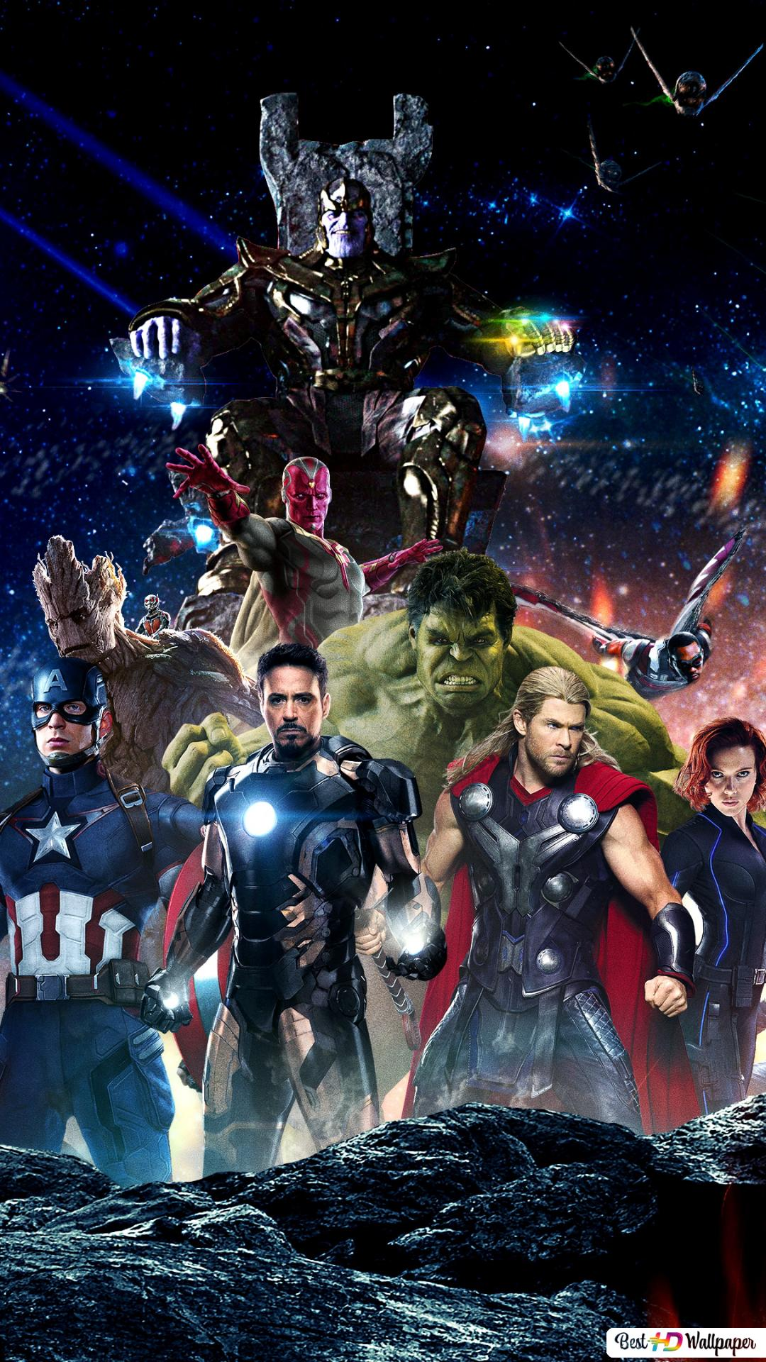 Avengers Infinity Wars Heroes And Villains Hd Wallpaper Download