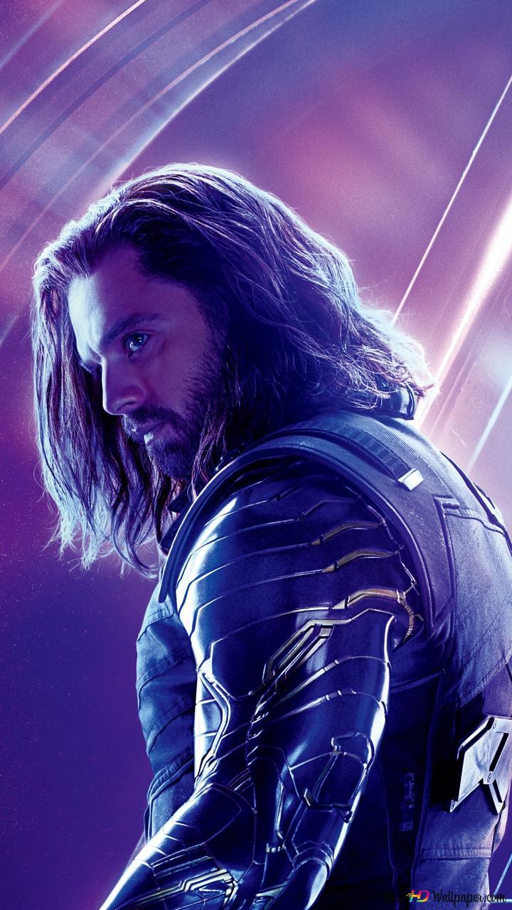 Avengers: Infinity War - Sebastian Stan HD wallpaper download