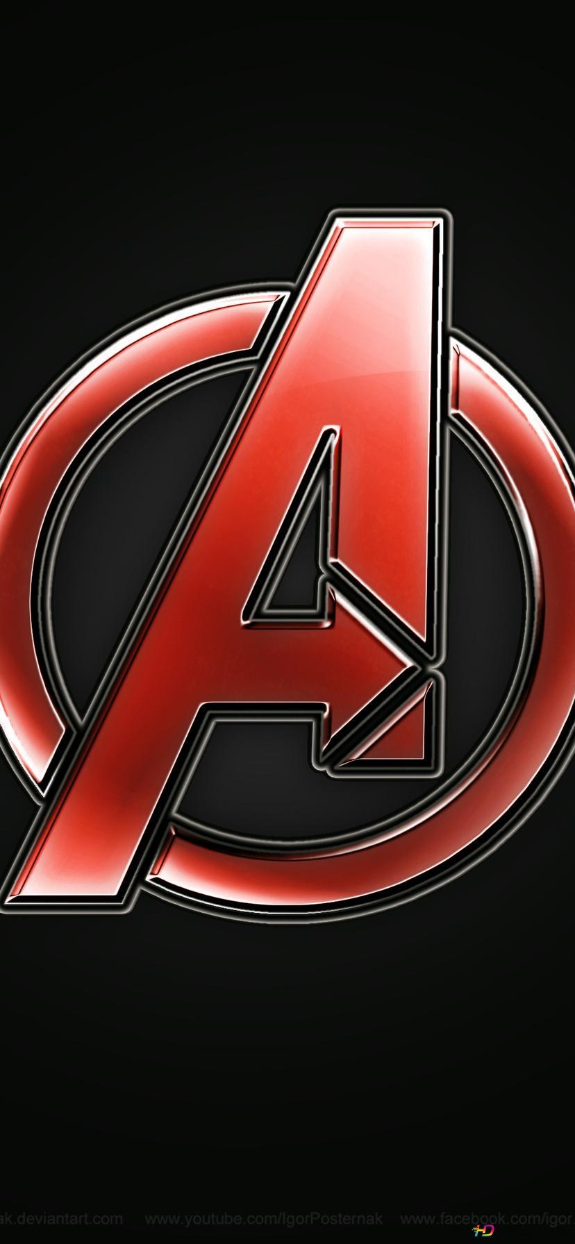 Avengers Movie Logo Hd Wallpaper Download