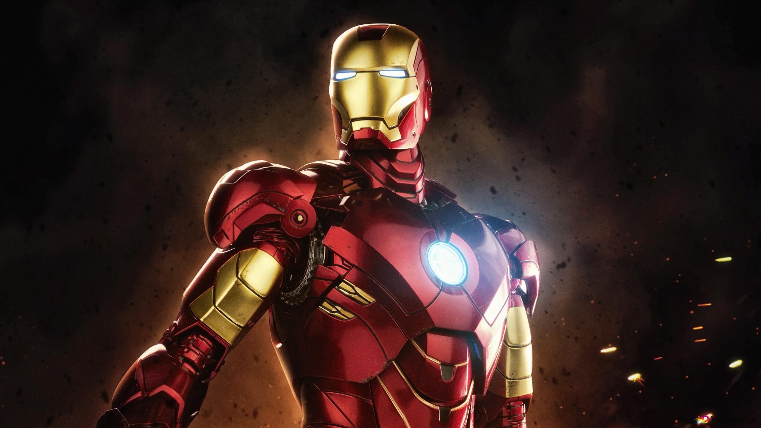 Avengers Superhero Iron Man Unduhan Wallpaper Hd