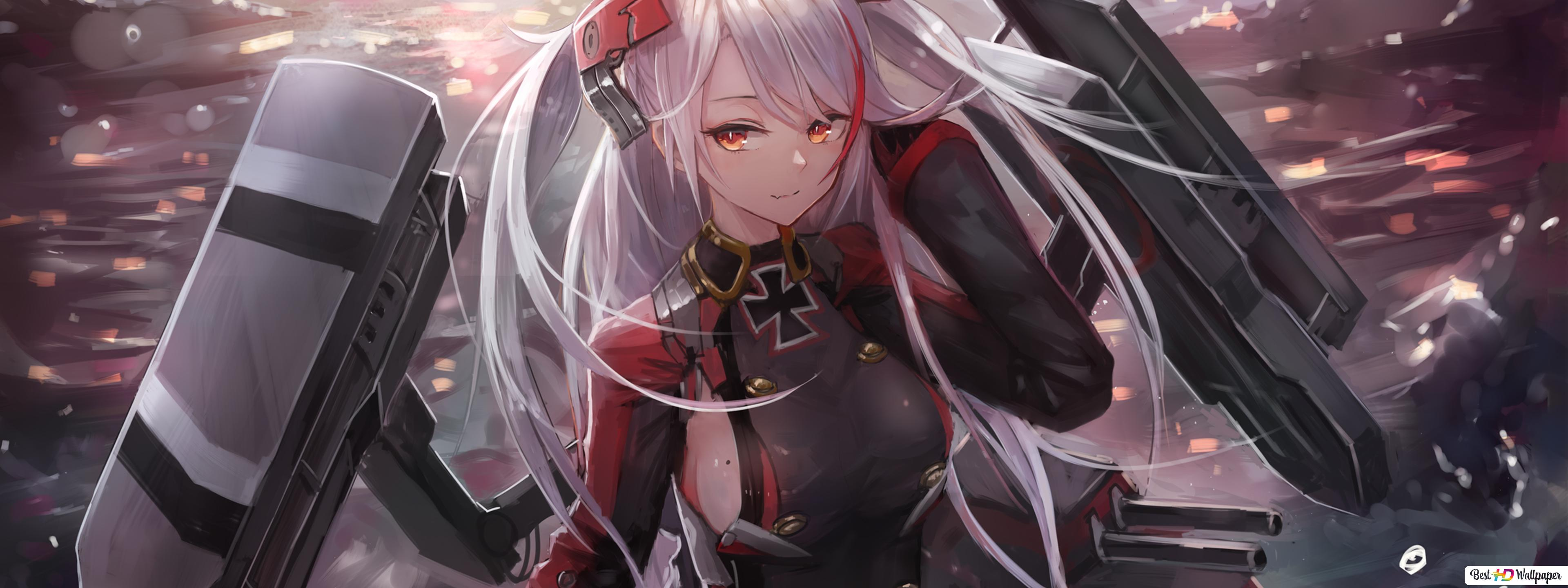 Azur Lane Prinz Eugen Hd Wallpaper Download