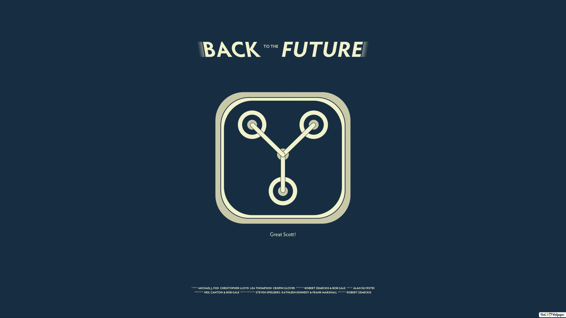 Back To The Future Poster Hd Wallpaper Download
