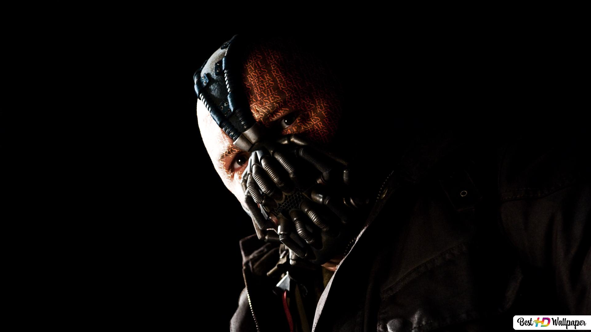 Bane Of The Dark Knight Rises Hd Wallpaper Download