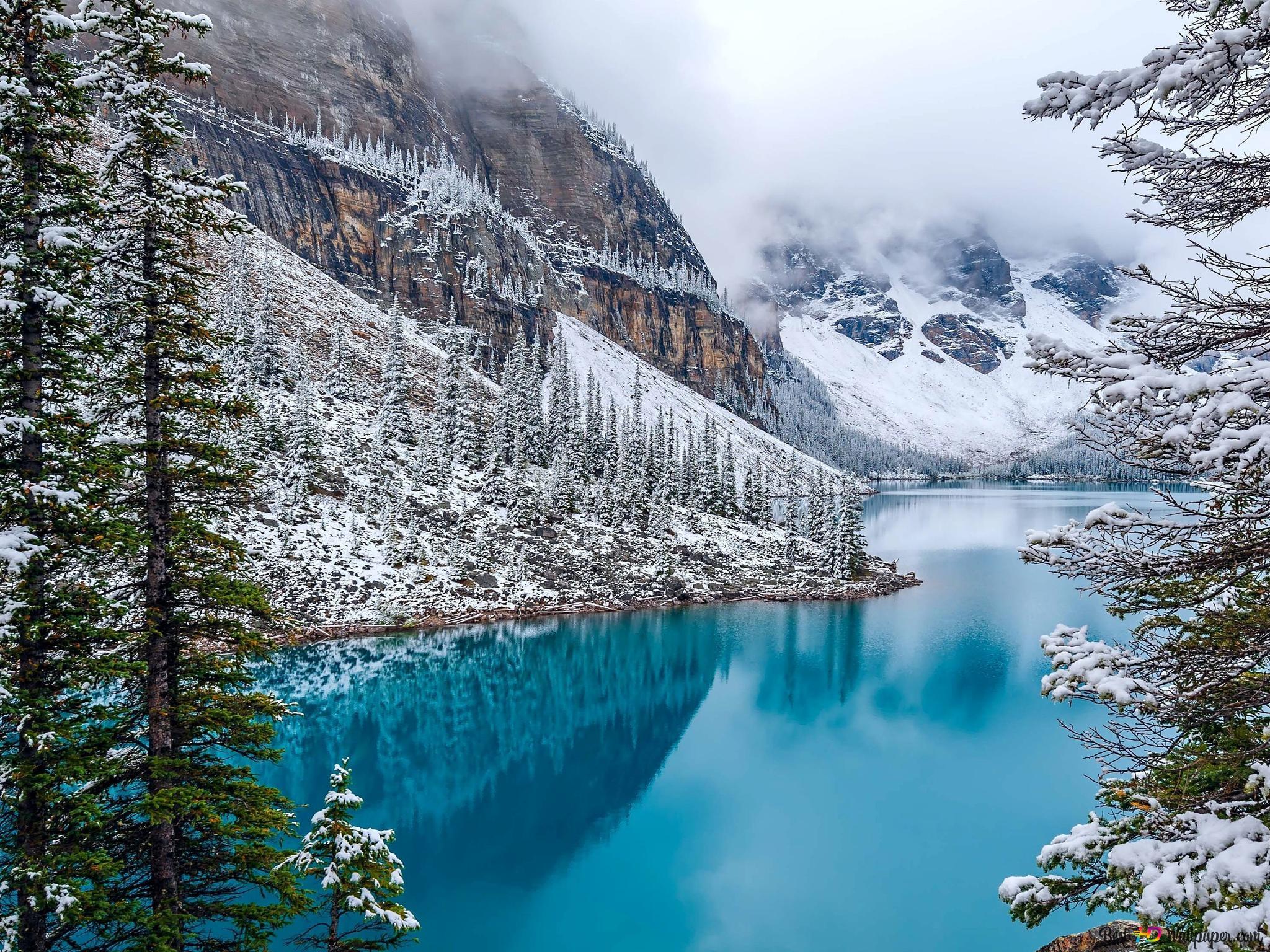 Banff National Park Moraine Lake Hd Wallpaper Download