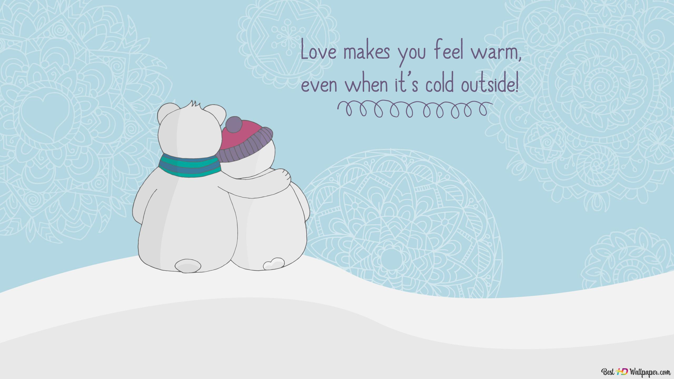 バレンタインデー 暖かい抱擁 Hd壁紙のダウンロード