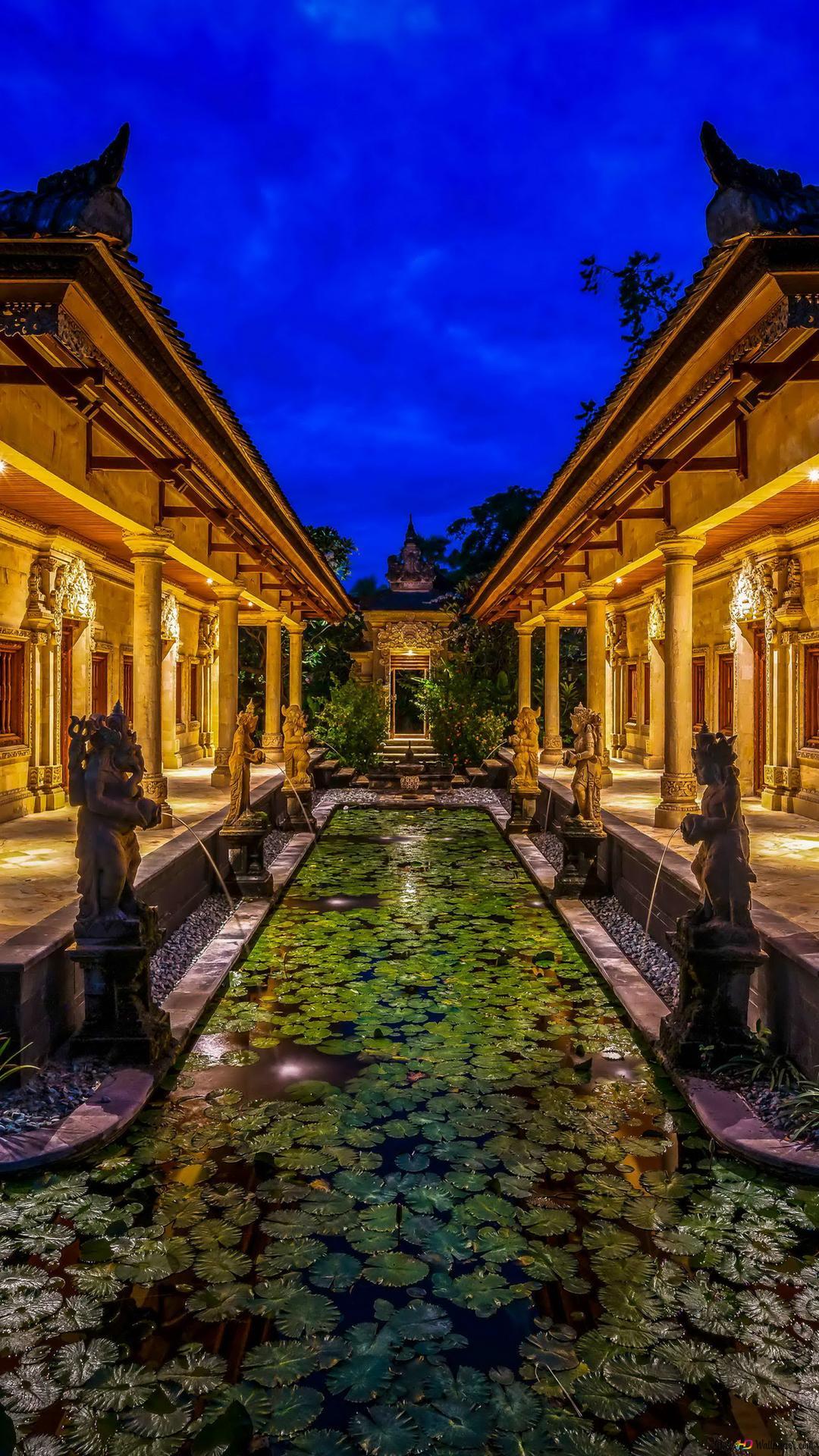 バリ島 インドネシアのホテル Hd壁紙のダウンロード