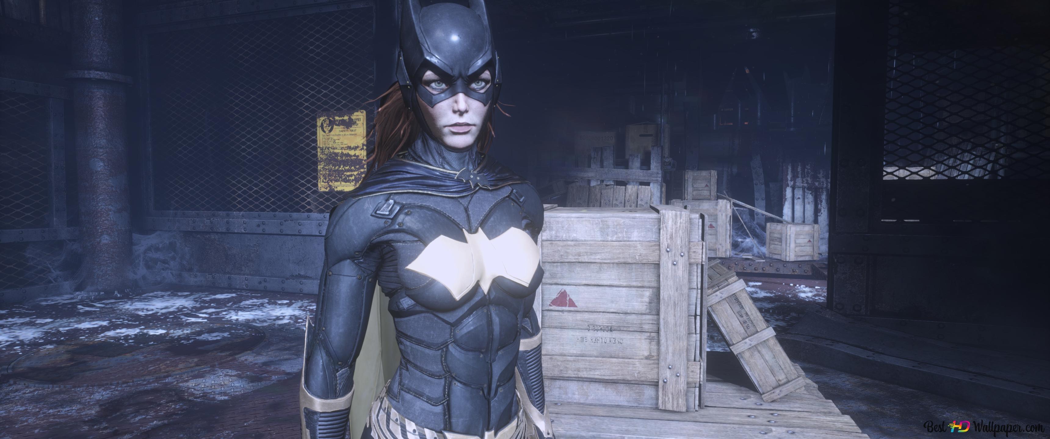 Batman Arkham Knight Batgirl Hd Wallpaper Download