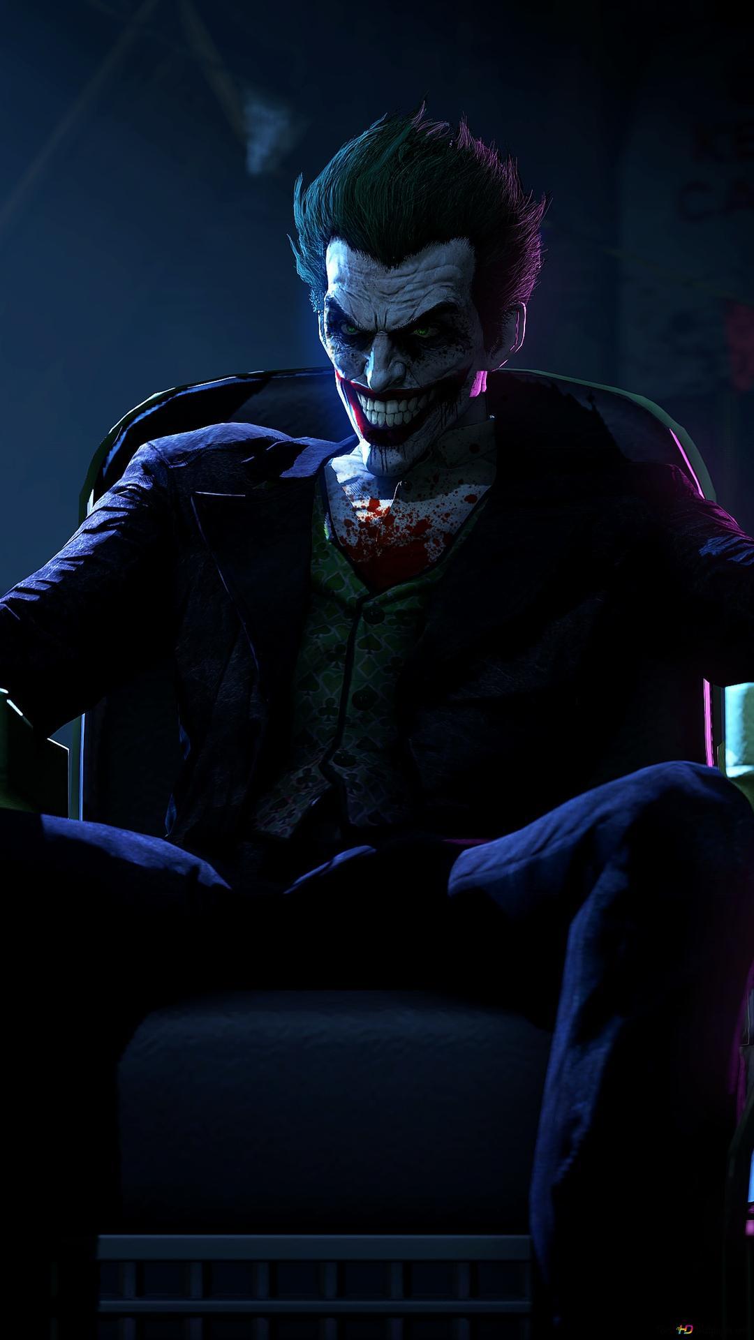 Batman Arkham Origins Joker Hd Wallpaper Download