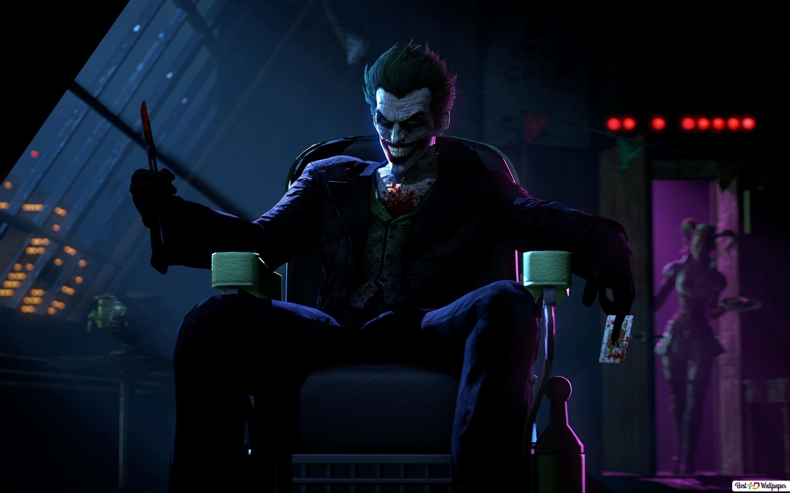 batman arkham origins joker hd