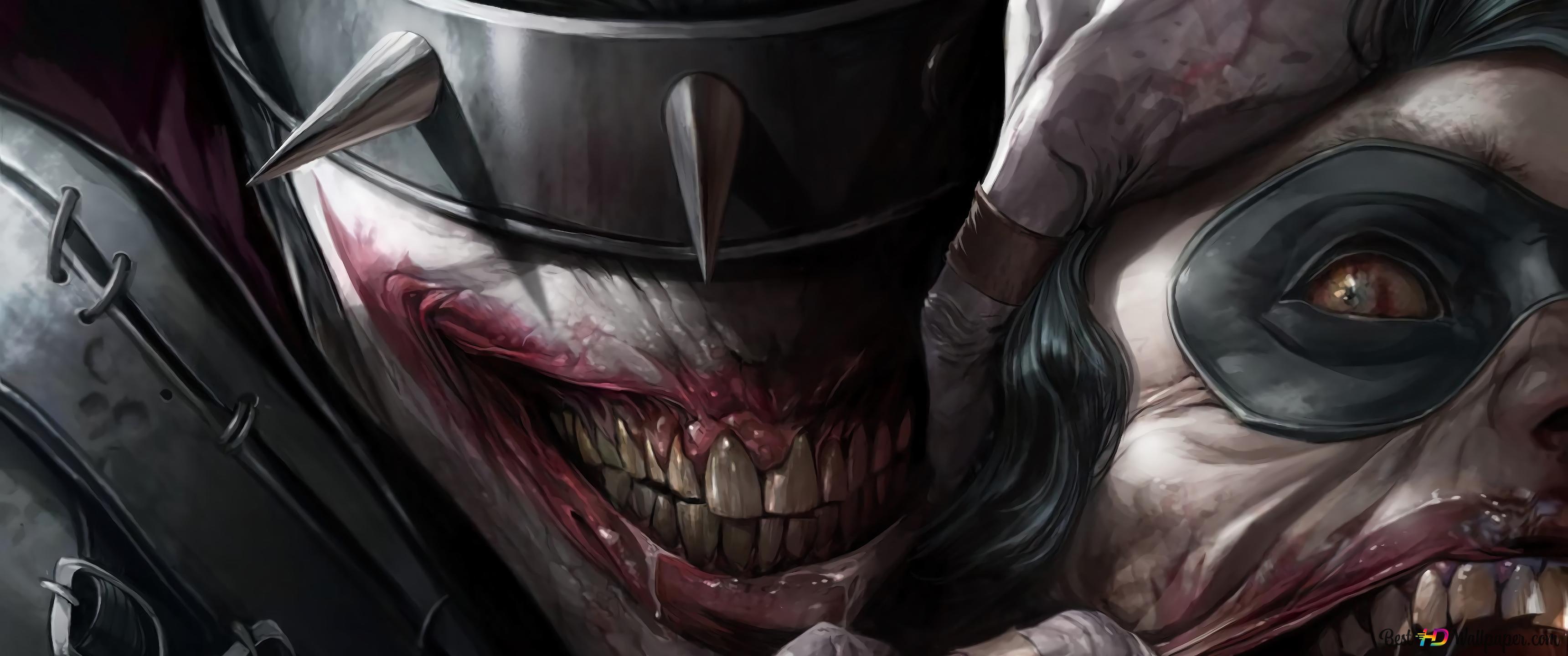 Descargar Fondo De Pantalla Batman Que Ríe Dc Comics Hd
